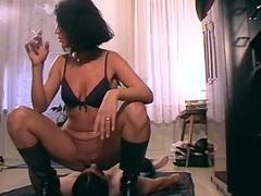 turkish mistress smother richie with pissing