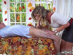 Amateur chubby blonde mom and  fist anal sex Gobble On The Pussy Not The Pie
