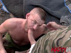 NASTYDADDY Hunk Sean Harding Raw Fucked By Drew Sebastian