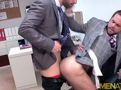 MENATPLAY Gays In Suits Mike De Marko And Sunny Colucci Fuck
