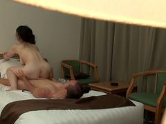 Mature Japanese hotel masseuse with perfect body sex