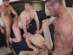 FamilyDick - Horny Daddys Swap Stepsons For A Family Orgy