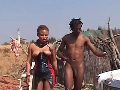 rough african outdoor fetish fuck lesson
