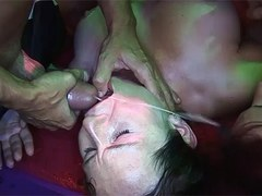 extreme wild german swinger club groupsex party
