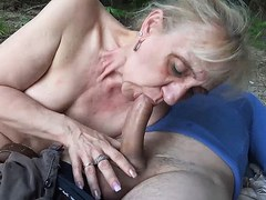 ugly 85 years old mom first public beach sex