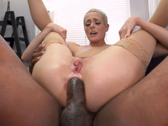 Skinny Sidra Sage Survives Anal Sex With A BBC