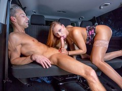 Private.com Fucking in the taxi
